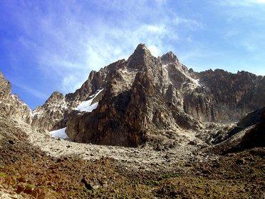 Trekking au Mont Kenya