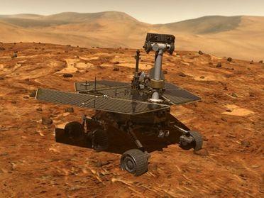 Trekking sur Mars