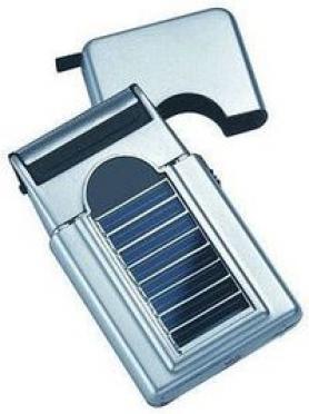Un rasoir solaire
