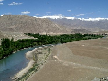La vallée de l'Indus au Ladakh