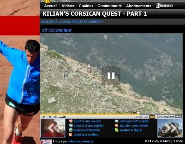 Video du record du GR20
