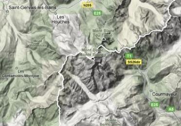 Vue en relief google maps